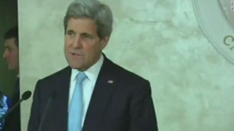 Kerry: You cannot have a one-sided peace