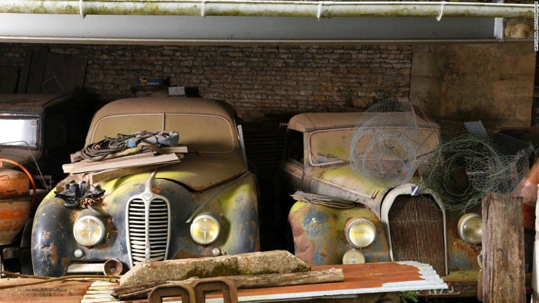 Old, rusty cars expected to sell for $20 million - CNN Style