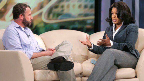 """James Frey's memoir, """"A Million Little Pieces,"""" about his struggles with substance abuse, was endorsed by Oprah Winfrey and sold millions of copies. But the investigative website The Smoking Gun found Frey's life wasn't as exciting as he portrayed it in the best-seller. Frey later admitted he embellished events about himself and other characters in the book."""