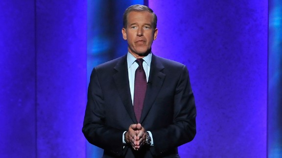 """NBC Nightly News"" anchor Brian Williams admitted in 2015 he wasn"