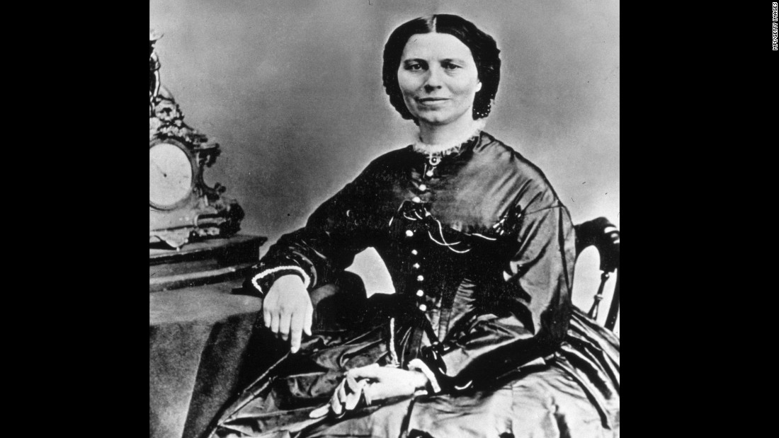 "During the Civil War, Clara Barton <a href=""http://www.redcross.org/about-us/history/clara-barton"" target=""_blank"">risked her life</a> to bring supplies to, cook for and nurse wounded soldiers. She also established an office to assist families in the search for missing loved ones, leading to the identification of more than 22,000 missing men. Barton established the <a href=""http://www.redcross.org/about-us/history/clara-barton"" target=""_blank"">American Red Cross</a> with a focus on disaster relief in 1881 and served as the head for 23 years. Today, the group carries on her mission to help disaster victims and calls its tracing service ""one of the organization's most valued activities."""