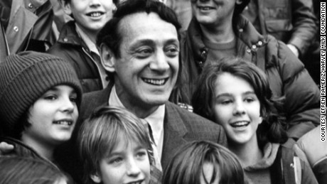 San Francisco voters may get the opportunity to rename their airport after slain politician and civil rights activist Harvey Milk, shown here at his 1978 inauguration.