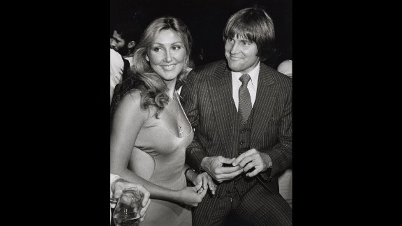 "Linda Thompson, who became Jenner's second wife, accompanies Jenner at the New York premiere of the movie ""Can't Stop the Music"" in June 1980. Jenner appeared in the movie, which was a huge dud and won the first Razzie award for worst picture."