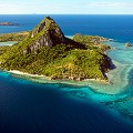 romantic south pacific yasawa aerial
