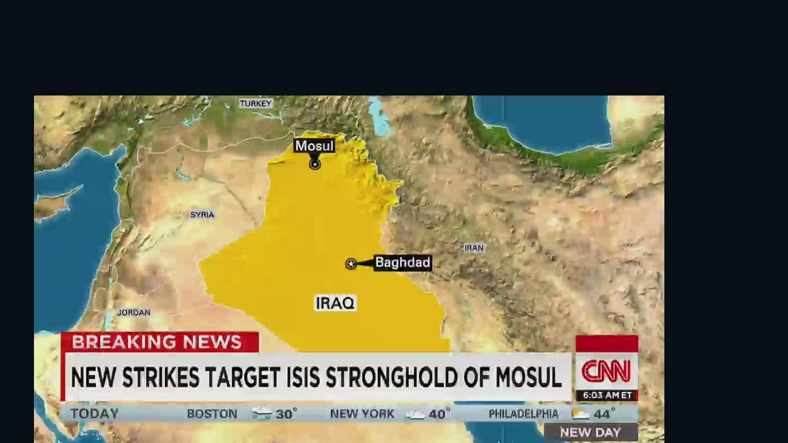 New airstrike kills ISIS militants - CNN Video