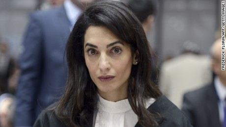 Amal Clooney hopes to help free jailed journalist Mohamed Fahmy.