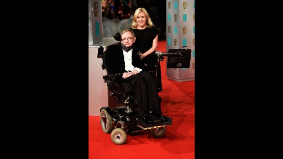Stephen Hawking and his daughter, Lucy Hawking