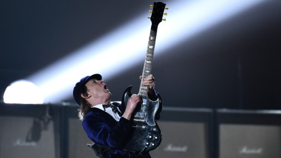 """AC/DC open the show with """"Rock or Bust"""" and """"Highway to Hell."""""""