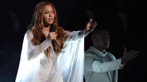 """Beyonce sings the gospel song """"Take My Hand, Precious Lord."""""""