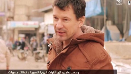 ISIS hostage British aid worker John Cantile