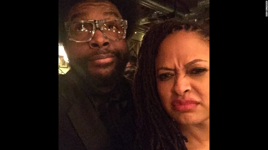 "Drummer Questlove and film director Ava DuVernay take a selfie together on Monday, February 9. Questlove <a href=""http://instagram.com/p/y4A0dwwa-i/?modal=true"" target=""_blank"">posted it to his Instagram account,</a> framing it as ""that time when Ava iced grilled me for forgetting to tell yall the vital importance of seeing her directorial masterpiece #Selma. Never too late people. Relevant today as it's EVER BEEN."""
