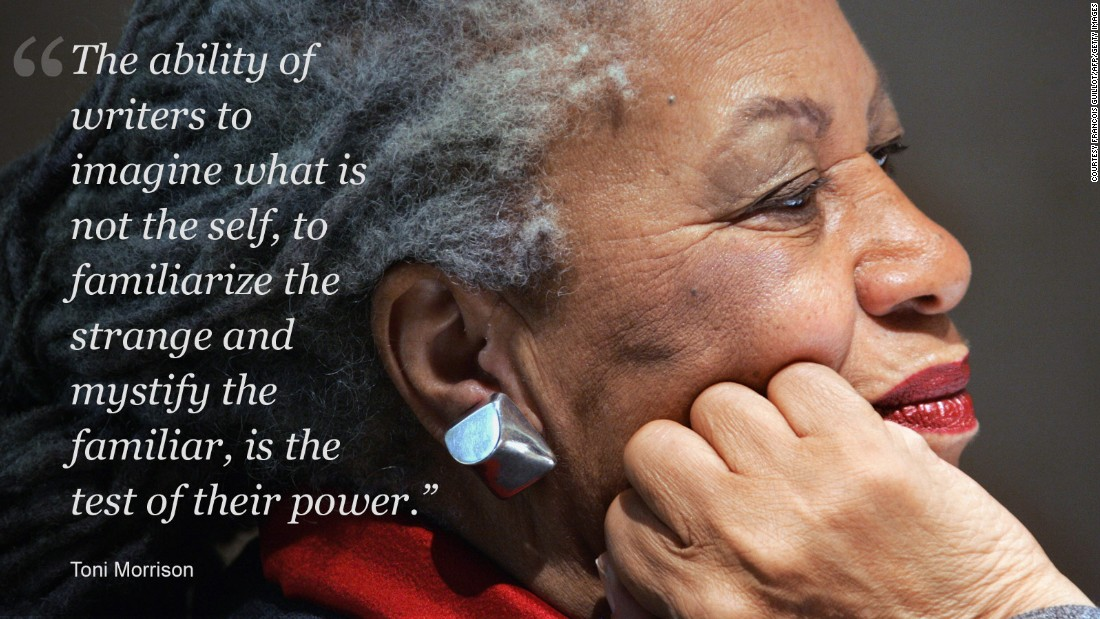 The wit and wisdom of Toni Morrison