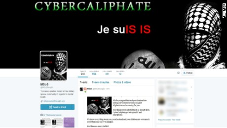 CyberCaliphate is an apparent ISIS sympathizer accused of hacking.