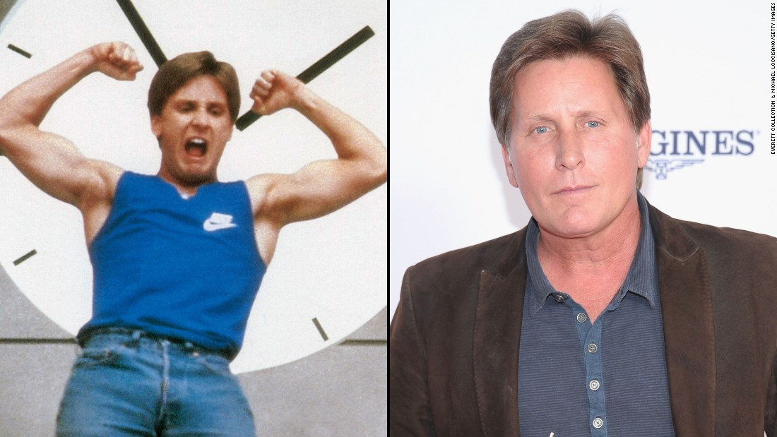 "Emilio Estevez is an original member of the Brat Pack and starred as Kirby Keger in ""St. Elmo's Fire."" He directed brother Charlie Sheen in the 1990 film ""Men at Work"" and appeared on his sibling's TV series ""Two and a Half Men"" in 2008."