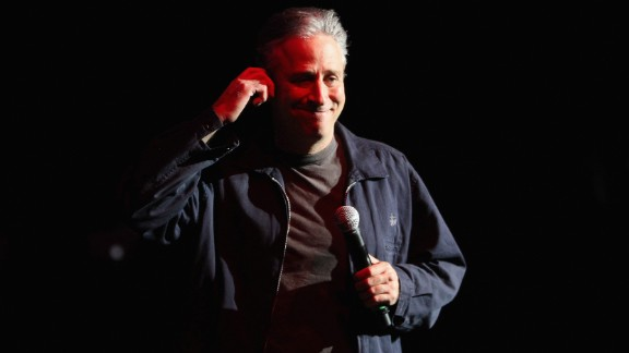 "Stewart, who started his career in stand-up, helped comedians like Stephen Colbert, John Oliver and Steve Carell gain national notoriety though their appearances on ""The Daily Show."""