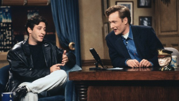 "He started as a stand-up comedian in New York, eventually becoming a regular on HBO's ""The Larry Sanders Show."" He is seen here as a guest on a 1993 episode of ""Late Night with Conan O'Brien."""