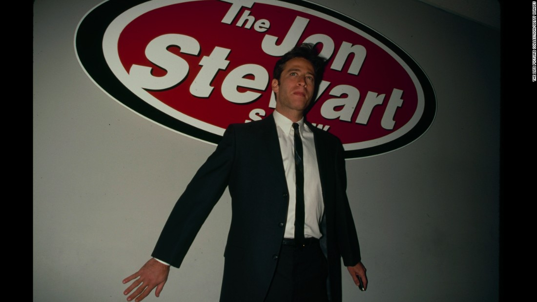 "As a precursor to his Comedy Central gig, Stewart got familiar interviewing celebrities on ""The Jon Stewart Show,"" a <a href=""http://www.cc.com/comedians/jon-stewart"" target=""_blank"">short-lived program</a> he hosted on MTV in the '90s."