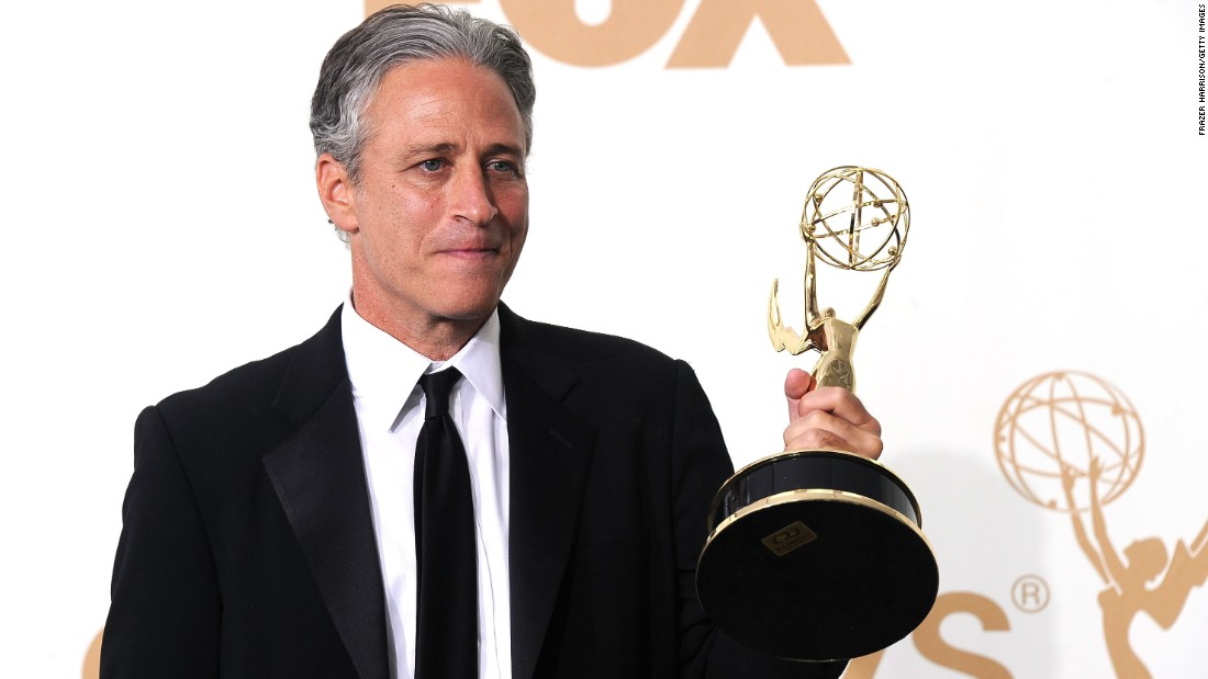 """The Daily Show"" staff has <a href=""http://www.emmys.com/shows/daily-show-jon-stewart"" target=""_blank"">won</a> 20 Emmy Awards collectively, including outstanding writing for a variety series and outstanding variety series."