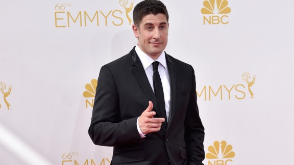 "Actor Jason Biggs came under fire after making what some found to be an insensitive joke after Malaysia Airlines Flight 17 crashed in eastern Ukraine in July. ""Anyone wanna buy my Malaysian Airlines frequent flier miles?"" he tweeted. When the Twitter backlash followed, Biggs didn't back down. ""Hey all you 'too soon' a**holes,"" he wrote, ""it's a f**king joke. You don't have to think it's funny, or even be on my twitter page at all."""