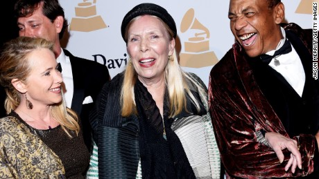 Singer-songwriter Joni Mitchell hospitalized