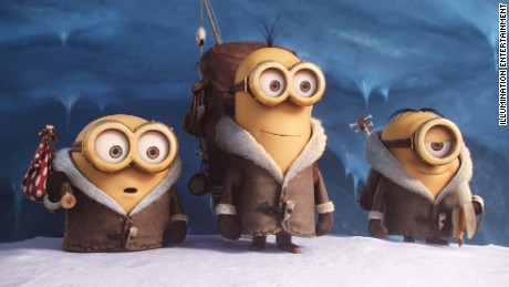 The film follows the minions as they search for a new master.