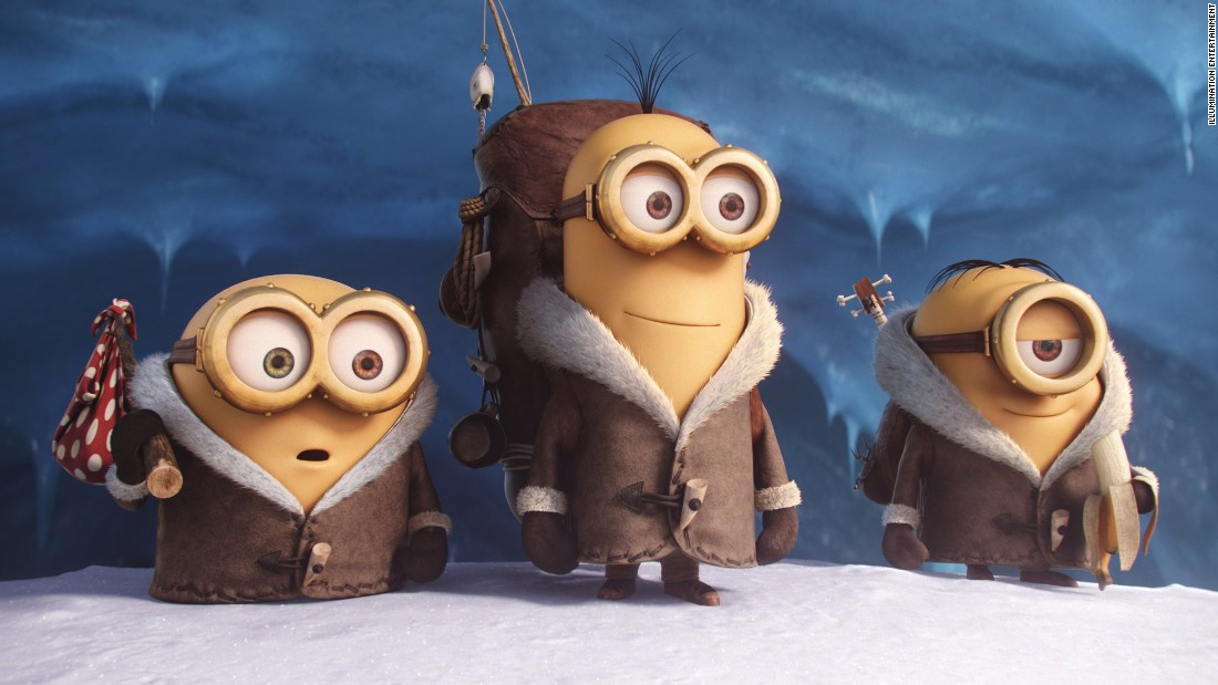 Minion fever is bigger than ever since this past summer's hit movie. You're sure to see a few kids dressed up as the gibberish-spouting creatures.