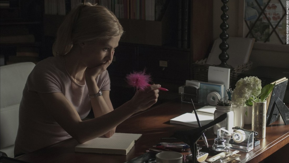 Former Bond girl Rosamund Pike bagged her first nomination for her part in the adaptation of Gillian Flynn's bestseller Gone Girl. As a troubled writer seeking to escape a fractious marriage, Pike eats up the scenery around her in a tempestuous performance marking a new chapter in her career.