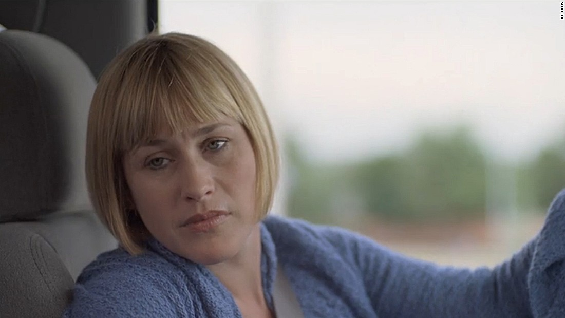 Arquette got her first Oscar win  for Boyhood, critics praised the actress for allowing herself to age on screen across 12 years as she played Olivia Evans, a single mother mother trying to do the best for her children in suburban America.