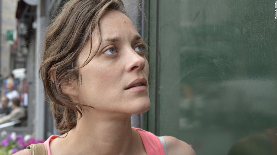 Similarly embattled, Marion Cotillard plays a working mother forced out of her job and tasked with convincing her colleagues to re-employ her in Two Days, One Night.