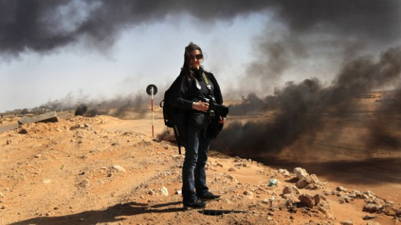 """Getty Images Reportage photojournalist,  Lysney Addario (pictured), has published a new memoir about her remarkable career, called """"It"""