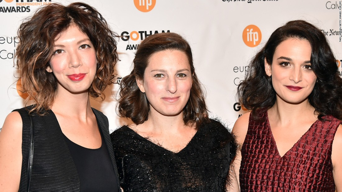 The writer-director of Obvious Child (center) is only just starting her career behind the camera, but has already received plaudits for her tale of unwanted pregnancy. Groundbreaking in its honest and humorous approach to a delicate subject, the film debuted at Sundance after a Kickstarter campaigned raised $37,214, before going on to see a wide cinematic release.