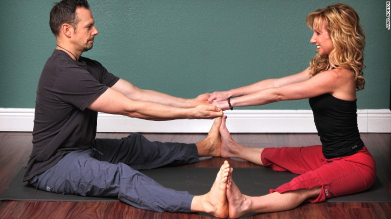 Partner Yoga Is About Intimately Tuning Into One Another So We Can Be Guided By Our