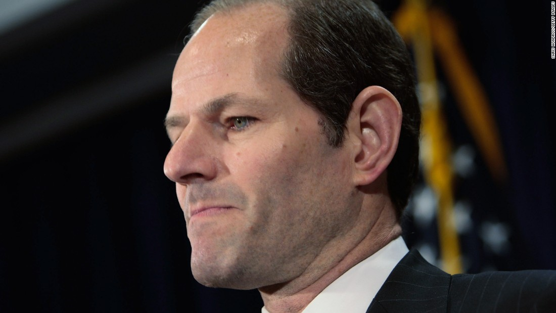 "New York Gov. Eliot Spitzer's resignation <a href=""http://www.cnn.com/2008/POLITICS/03/12/spitzer/index.html"" target=""_blank"">announcement </a>in 2008 came as he faced allegations that he was tied to an international prostitution ring ensnared in a federal investigation. Spitzer, a Democrat, was <a href=""http://www.cnn.com/2008/CRIME/11/06/spitzer.no.charges/"" target=""_blank"">never charged</a> in that scandal."