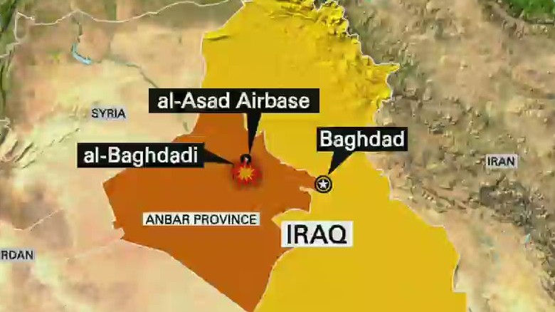 ISIS attacks U.S. airbase in Iraq