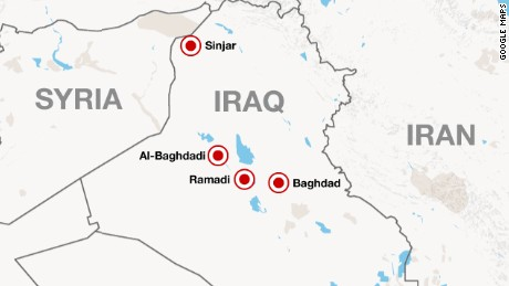 US copters support Iraqis fighting ISIS CNN