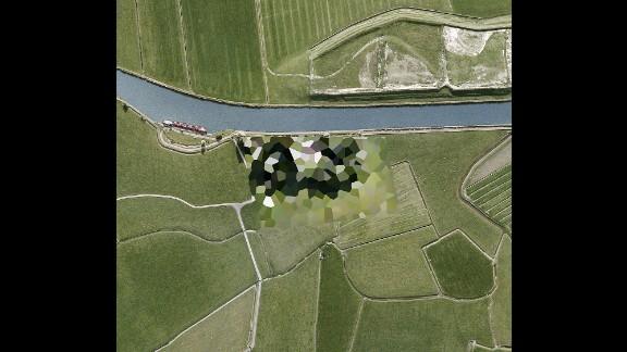 Fuel Station Dronrijp in Friesland province.