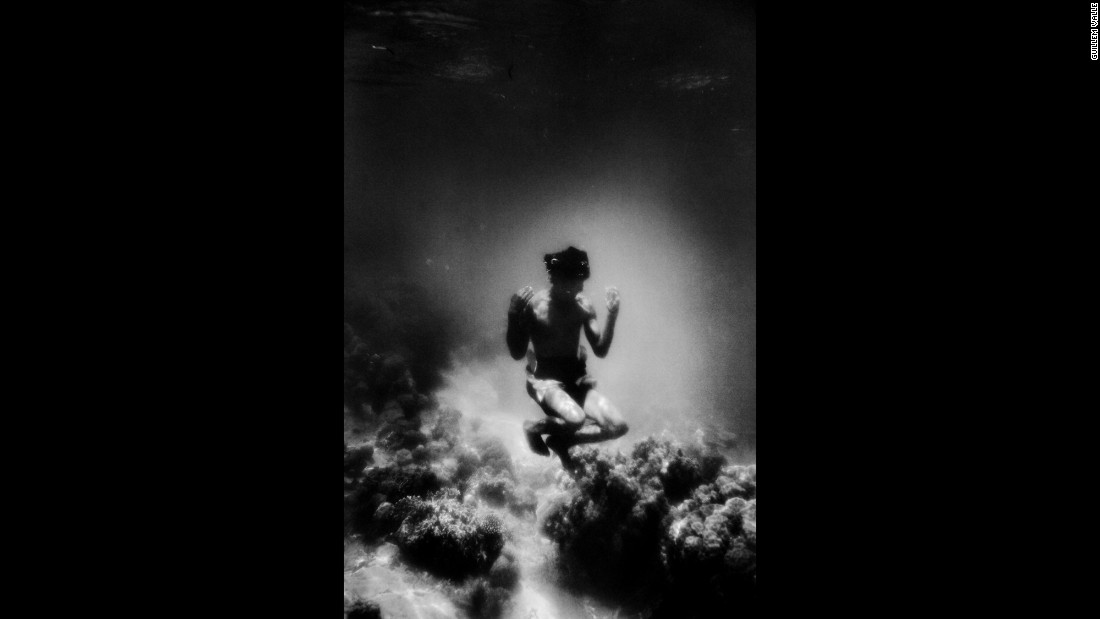 """I wanted to show who they are,"" Valle said. ""I didn't want to create some sort of anthropology catalog. I wanted to go beyond who's who. These underwater portraits were perfect for that."""