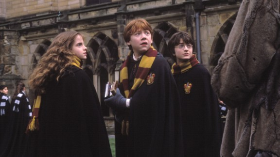"""All seven of J.K. Rowling's """"Harry Potter"""" books made the leap from page to screen, beginning with the first one in 2001 and wrapping up in 2011. It's been a trend to split the last book in a series into two films, with the """"Twilight"""" and """"Hunger Games"""" franchises following suit. The success of the """"Harry Potter"""" films also led to adaptations of """"Lemony Snicket's A Series of Unfortunate Events,"""" """"Inkheart"""" and """"The Spiderwick Chronicles,"""" none of which replicated the success of """"Potter. From left are """"Potter"""" stars Emma Watson, Rupert Grint and Daniel Radcliffe."""