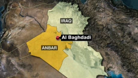 ISIS seizes town near base with U.S. troops