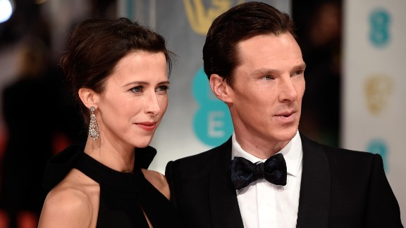 "We knew actor Benedict Cumberbatch was engaged to theater director Sophie Hunter, but their Valentine's Day wedding sneaked up on us with little fanfare. The couple wed in a small ceremony on the Isle of Wight ""surrounded by their close friends and family,"" Cumberbatch's publicist, Karon Maskill, said. ""It was a magical day."""