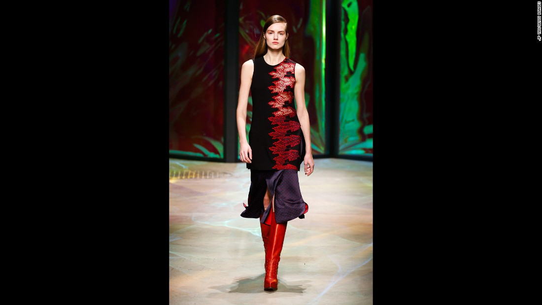 Thakoon Panichgul stuck to a long, lean and romantic silhouette for fall.