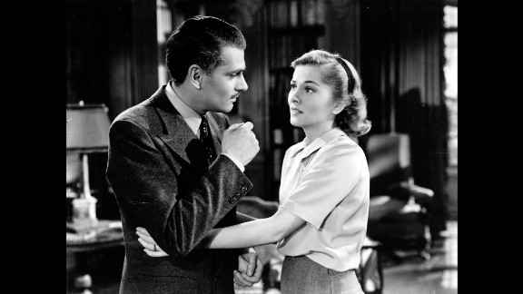 """""""Rebecca"""" (1941): After """"Gone With the Wind,"""" producer David O. Selznick scored again with another adaptation of a best-seller, Daphne du Maurier's """"Rebecca."""" He brought Alfred Hitchcock from Britain to direct Laurence Olivier and Joan Fontaine in a tale of a shy young woman living in the shadow of her husband's first wife. """"Rebecca"""" was not only Hitchcock's first American film, but also his only one to win a best picture Oscar."""