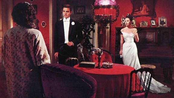"""""""Gigi"""" (1959): For one of its last great musicals, MGM turned to Alan Jay Lerner and Frederick Loewe after their success with """"My Fair Lady"""" to create a musical based on Colette's """"Gigi."""" The Vincente Minnelli film with Louis Jourdan, center, and Leslie Caron, right, won every Oscar it was nominated for (nine), including best picture and director. Legendary French star Maurice Chevalier had a memorable song with """"Thank Heaven for Little Girls."""""""
