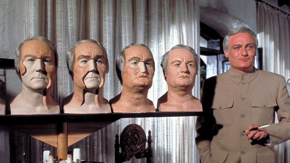 "Charles Gray took on the role of Blofeld in 1971's ""Diamonds Are Forever."" His other films included ""The Rocky Horror Picture Show"" (as the Criminologist), ""The Seven-Per-Cent Solution"" -- and ""You Only Live Twice,"" in which he played a Bond friend. Gray died in 2000."
