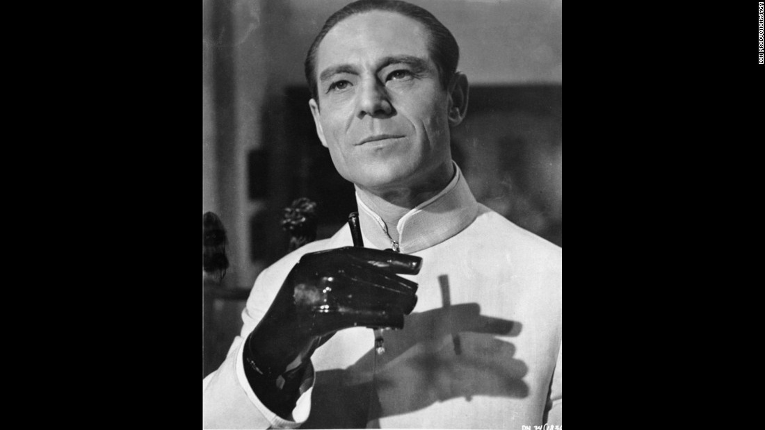 "The first Bond bad guy was Joseph Wiseman, who played the title character in 1962's ""Dr. No."" He defined decades of Bond villains, with his secret lair, his faith in sabotage and his megalomania. Wiseman, who appeared in several TV shows and Broadway plays, died in 2009."