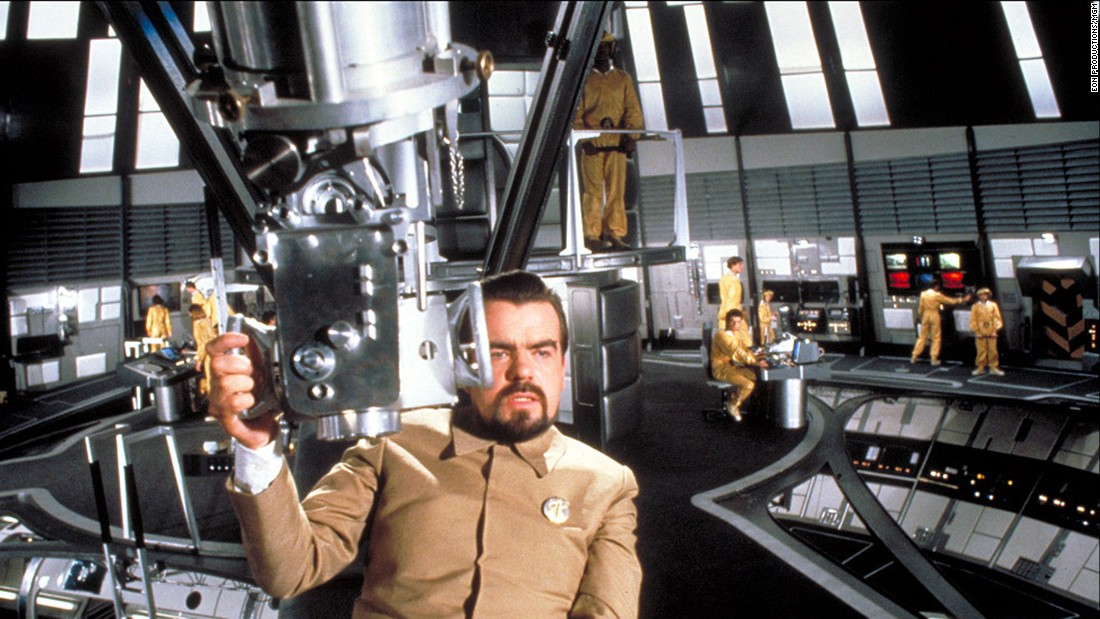 "French actor Michael Lonsdale took on the mantle of Bond villain by playing Hugo Drax, yet another in a string of megalomaniacal industrialists, in 1979's ""Moonraker."" Lonsdale, who's now 83, later appeared in ""The Remains of the Day"" and ""Munich."""