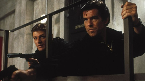 "Sean Bean's Alec Trevelyan wanted to set off an electromagnetic pulse over London in 1995's ""GoldenEye."" Bond (by now Pierce Brosnan) wouldn't have it. Bean, like Christopher Lee, was in the ""Lord of the Rings"" trilogy."