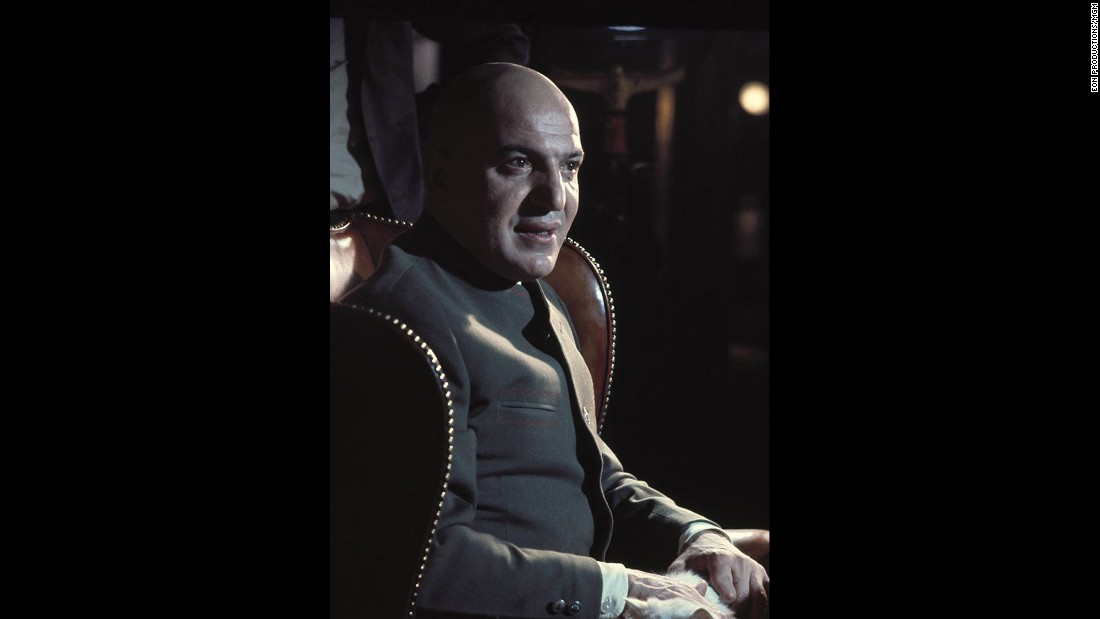 "Telly Savalas, hot off the success of ""The Dirty Dozen,"" played Blofeld in 1969's ""On Her Majesty's Secret Service."" Savalas later became more famous for his performance as TV detective Theo Kojak in ""Kojak."" He died in 1994."