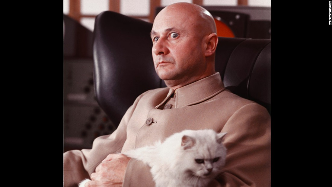 "Several men have played archvillain Ernst Stavro Blofeld over the years, but the most iconic version is probably that of Donald Pleasance in 1967's ""You Only Live Twice."" Pleasance appeared in a number of other well-known films, including ""The Great Escape"" and ""Halloween."" He died in 1995."