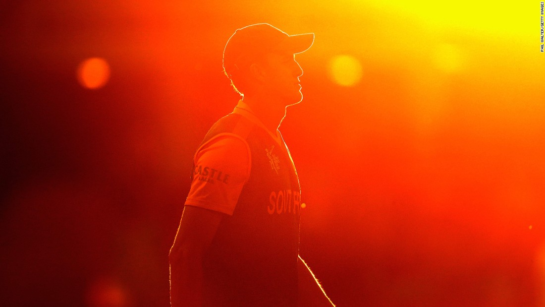 South Africa's Morne Morkel is seen in Hamilton, New Zealand, during a Cricket World Cup match on Sunday, February 15. South Africa defeated Zimbabwe by 62 runs in what was the opening tournament match for both teams.